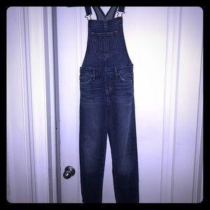 Abercrombie kids overalls size medium